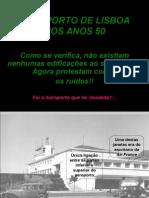 Aeroporto de Lisboa nos Anos 50