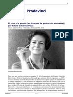 Arturo Gutiérrez Plaza - El Cine y Los Poetas