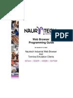 Naurtech Web Browser Prog Guide 57