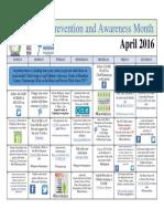 April Events Calendar FINAL