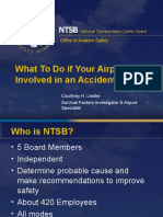 What To Do if Your Airport is Involved in an Accident