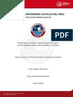 Castro Vergara Rene Discriminacion
