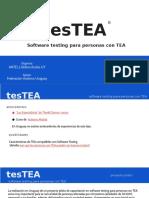 tesTEA  © Globos Azules UY