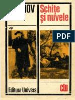 Anton P. Cehov - Schite si Nuvele