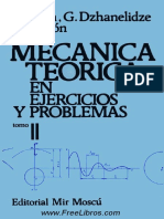 Mecánica Teórica en Ejercicios y Problemas Tomo II