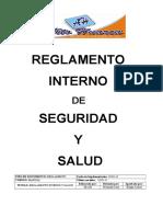 Reglamento Interno de Seguridad y Salud Generals Contrac