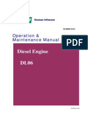 Doosan Diesel Engine DL06 | Internal Combustion Engine