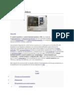 CNC Programacion Ejemplos