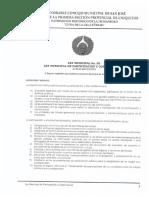 Ley Participación y Control Social San José de Chiquitos