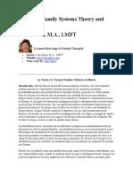 Galica - Teoría y Terapia Boweniana de Sistemas Familares