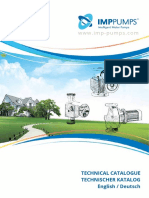 PUMPS Technical Catalog 2014 Eng De