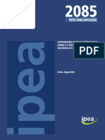 Capacidades Estatais Comparadas China e a Reforma Do Sistema Nacional de Inovações - IPEA