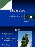 Kiparstvo 20.st.