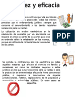 Validez y eficacia de documentos electronicos