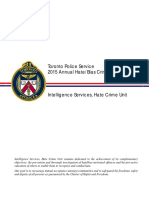 2015 Annual Hate Bias Crime Statistical Report