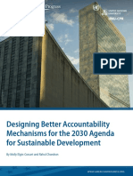 Designing Better Accountability Mechanisms for the 2030 Agenda for Sustainable Development
