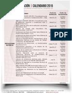 2015-02-17 Calendario 2015 México