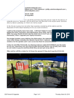 Email to Steve, Phil, And Mike Re 1250 Fremont Street Upgrades and Budget March 24, 2016