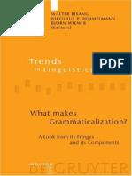 Bisang&Himmelmann&Wiemer.2004.What Makes Grammaticalization