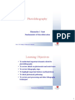 Lecture 03 Photolithography