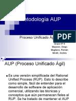 AUP Proceso Unificado Agil