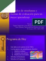 Tecnologías, Evalución y Métodos v. Oct 26, 2005 traduccion