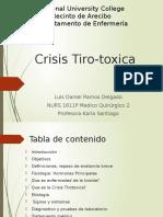 Crisis Tirotoxica
