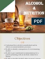alcohol presentation portfolio