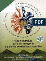Vida y Dignidad Para Indigenas y Para Los Colombianos Tambien (1)