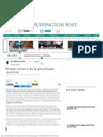 El Lado Oscuro de La Psicología PositivaDavid Martín Escudero