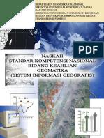 Naskah Standar Kompetensi Nasional Bidang Keahlian Geomatika