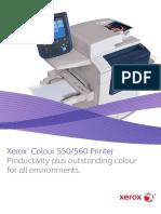 Xerox® Colour 550/560 Printer