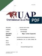 Asociación Del Estreptococos Mutans y Lactobacilos Con La Caries Dental en Niños (2)