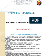 Diapositivas de Etica Profesional-clases