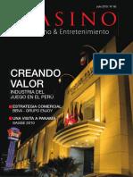 Memoria Casinos en Perú 2010