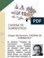 Presentacion Cadena de Suministros