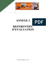Annexe 2 Referentiel d ' Evaluation - Unknown - Unknown - 2013