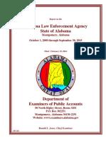 State audit of ALEA
