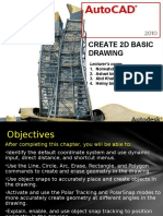 Create 2D Basic Drawing
