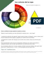 Como Combinar Los Colores de La Ropa