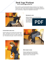 Yoga Desk Poses HP