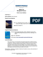 MBAA 518 Online Syllabus 0515