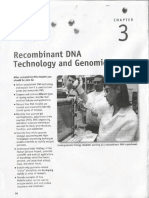 Chapter 3 - Recombinant DNA Technology and Genomics