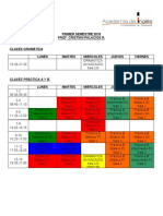 Horario Academia UTA 2016 CP