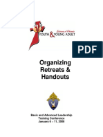 Organizing for Retreats