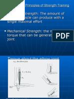 Scientific Principles of Strength Training