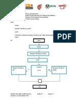 Pseudocodio,Diagrama de Flujo y Prueba de Escritorio