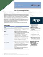 MortgageServicingBankAccountProgramMSP-2