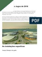 Olimpiadas 2016 Região Barra — Portal Brasil 2016