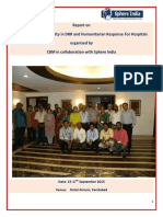 Report of Mainstreaming Disability in Drr Training Cbm 15 17th September 2015